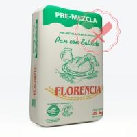 Premezcla Pan  c/Salvado 25 Kg. Florencia