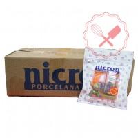 Porcelana Fría Caja 40u de 250Grs. Nicron