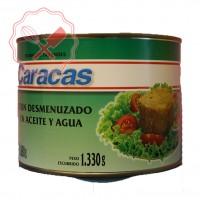 Atún Aceite-Agua Desmenuzado 1.88 Kg Caracas.