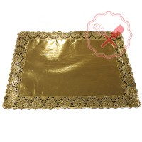 Blonda Oro Rectangular 34x41 Cm