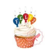 Vela Feliz Cumpleaños 15u