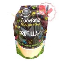 Pasta Relleno Frutilla 500 Grs. Codeland