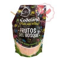 Pasta Relleno Frutos del Bosque 500 Grs. Codeland