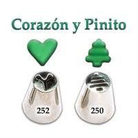 Pico / Boquilla G Corazón 252/ Pinito 250 Parpen