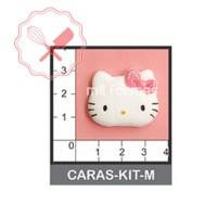 Molde Flexible Cara Kitty