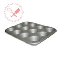 bandeja p/ 12 muffins aluminizada 44x32 cm