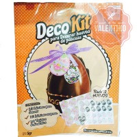 Kit Deco Pascuas 12u (Decoración + lámina + dedicatoria)