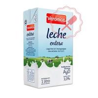 Leche L.V. Entera Verónica - 1Lt