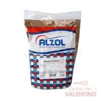 Cacao Amargo Comun Alzol - 1Kg