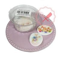 Pasta Flexible Estampada Para Huevos de Pascuas  12u