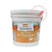 Mermelada Durazno 5Kg. Taxonera