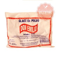 POLVO GLACE REAL 400Grs. DON EMILIO