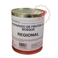 Preparado Frutos del Bosque Lata 900Grs. Regional