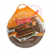 Bizcochuelo Redondo Chocolate 550Grs. Valente