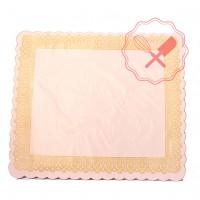 Bandeja para Torta Rectangular de Cartón 31x41cm