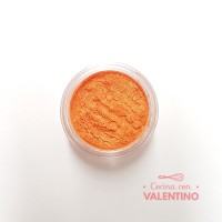 Colorante Dust Color Platinum Nacarado Mandarina