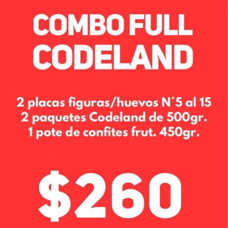 """Combo Full """"CODELAND"""""""