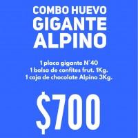 "Combo Huevo Gigante ""ALPINO"""