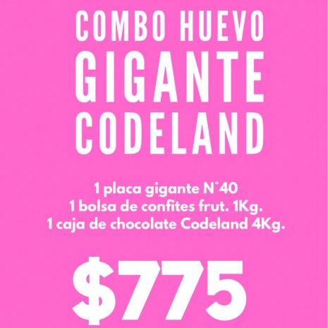 "Combo Huevo Gigante ""CODELAND"""