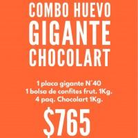 "Combo Huevo Gigante ""CHOCOLART"""