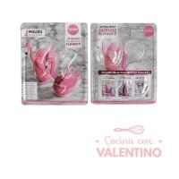 Set para Armar Huevo Flamenco 10cm