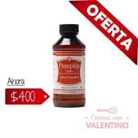 Emulsion Lorann Pumpkin Spice (Calabaza) 118 ml