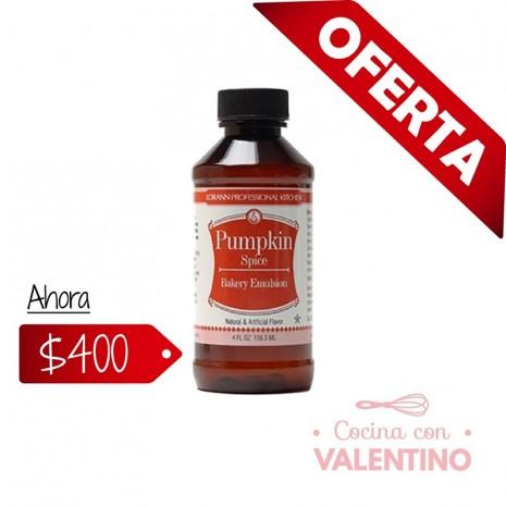 Esencia Lorann Pumpkin Spice (Calabaza) 118 ml