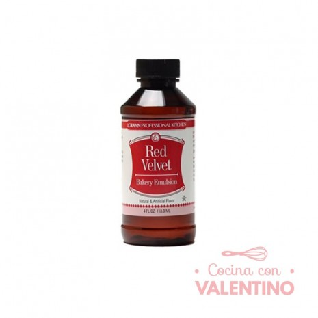 Esencia Lorann Red Velvet (Rojo terciopelo) 118 ml