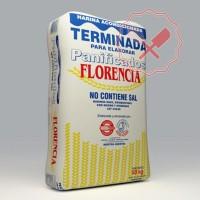 Harina Terminada Sin Sal 25Kg. Florencia