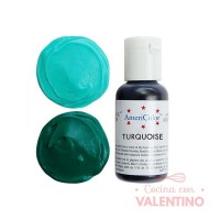 Colorantes Americolor  Turquoise - 21Grs
