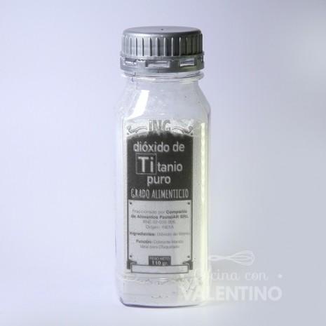 Dioxido de Titanio Pastelar - 110Grs.