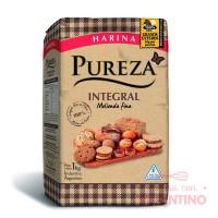 Harina 100 % Integral Pureza - 1Kg