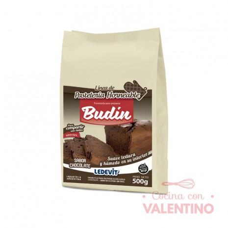 Mix Budin de chocolate Ledevit - 500Grs