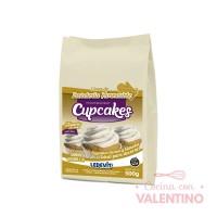 Mix Cupcake de vainilla Ledevit - 500Grs