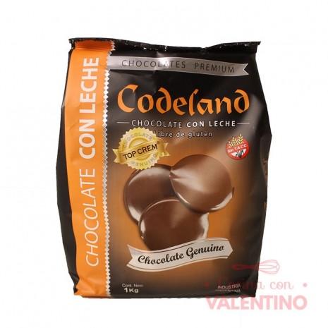 Cob. C/Leche Top Crem Codeland - 1Kg