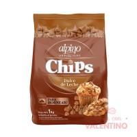 Chip Gota Dulce de Leche Alpino - 1Kg
