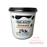 Dulce de Leche Repostero Vacalin x 1Kg