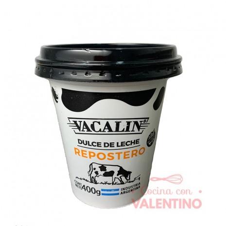 Dulce de Leche Repostero Vacalin x 400Grs