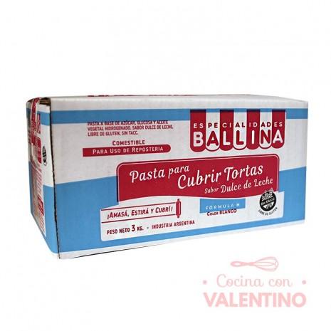 Pasta Cubretorta Fórmula H DDL Ballina - 3Kg