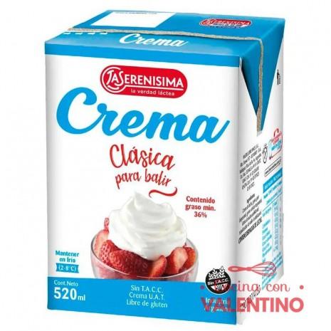 Crema de Leche La Serenisima Tetrapack- 520cc
