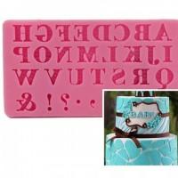 Molde Flexible Letras y Simbolos (G03-033N3) - CM