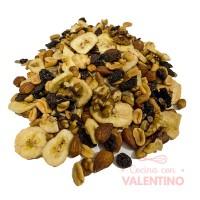 2x1 Mix de Frutos Secos Quercus (Almendras. nuez. maní. semillas de girasol. pasas de uva y banana) 5Kg