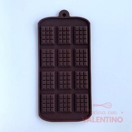 Molde Silicona Chocolatines x12 - CM