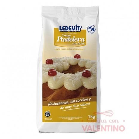 Crema Pastelera En Frio Ledevit - 1 Kg
