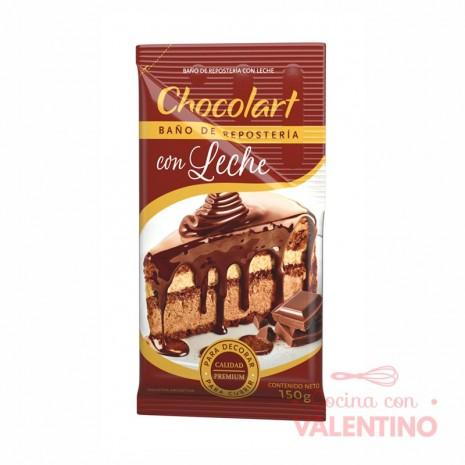 Baño Reposteria Leche Chocolart Pouche - 150Grs