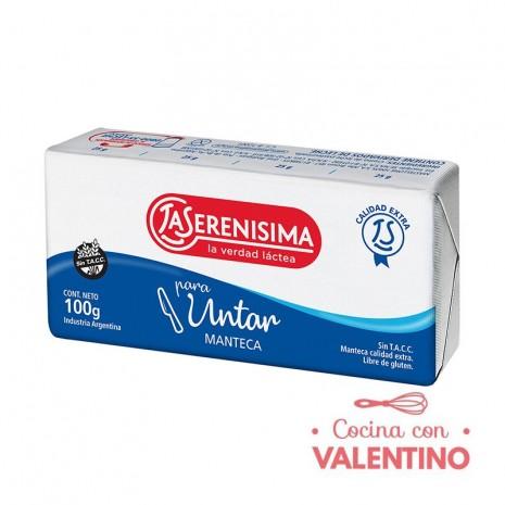 Manteca La Serenisima - 100Grs