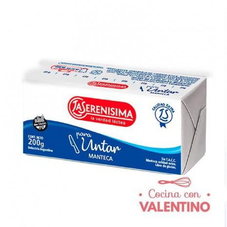 Manteca La Serenisima - 200Grs