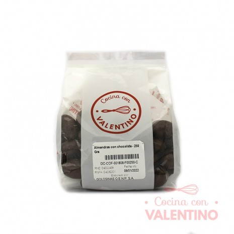 2x1 Almendras con chocolate - 250 Grs