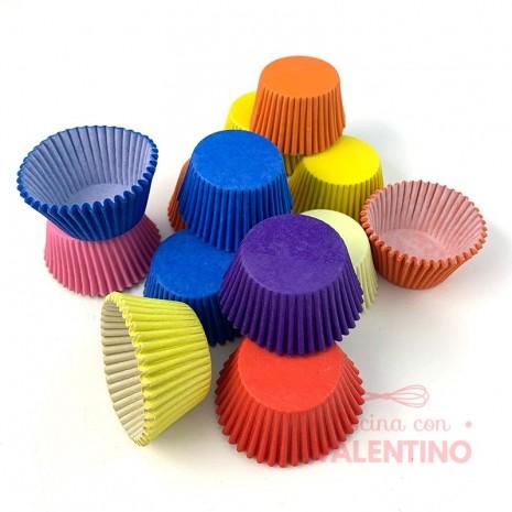 Pirotines Color Nº8 Moldpack - 1Paq. (15 pirotines)