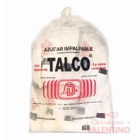 Azucar Impalpable Talco Dewey - 1 Kg - Pack 10 Un.